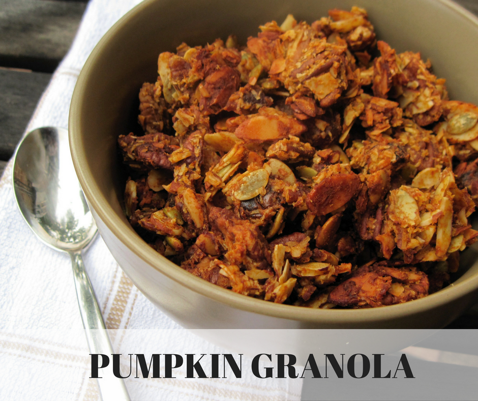 Pumpkin Granola Recipe — Dishmaps